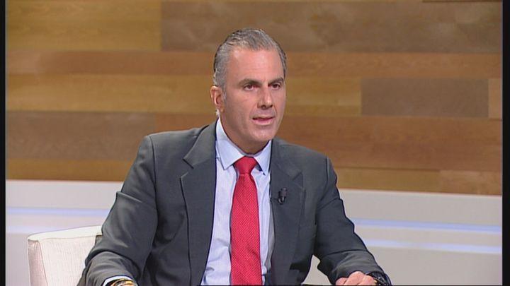 """Ortega Smith: """"Madrid Central es la gran mentira de Almeida. Ha elegido socios comunistas y allá se las componga"""""""