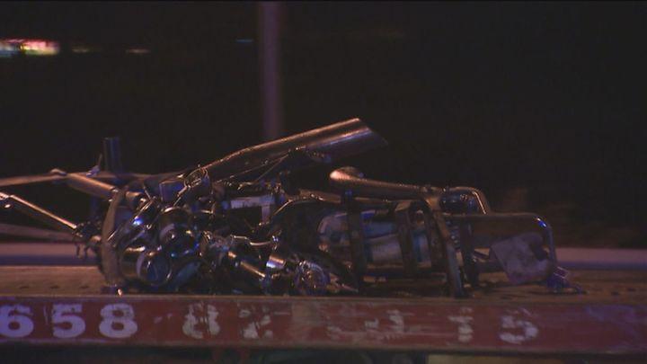 Fallece el conductor de una moto al chocar frontalmentecon un coche en la M-226 en Los Santos de la Humosa