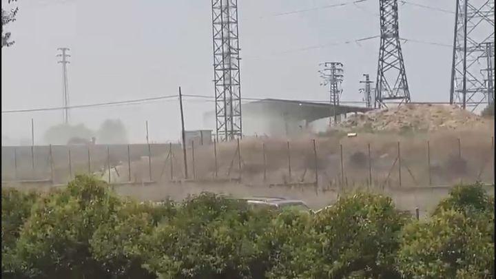 El polvo invade Villaviciosa de Odón