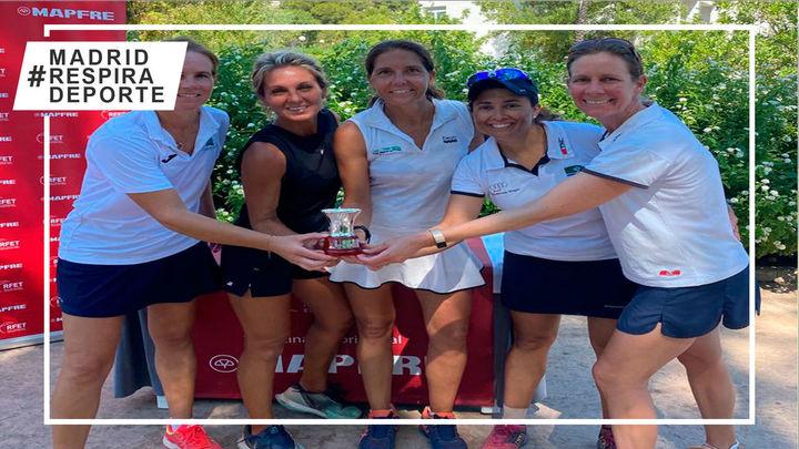 Club de Campo +40, subcampeón de España de tenis