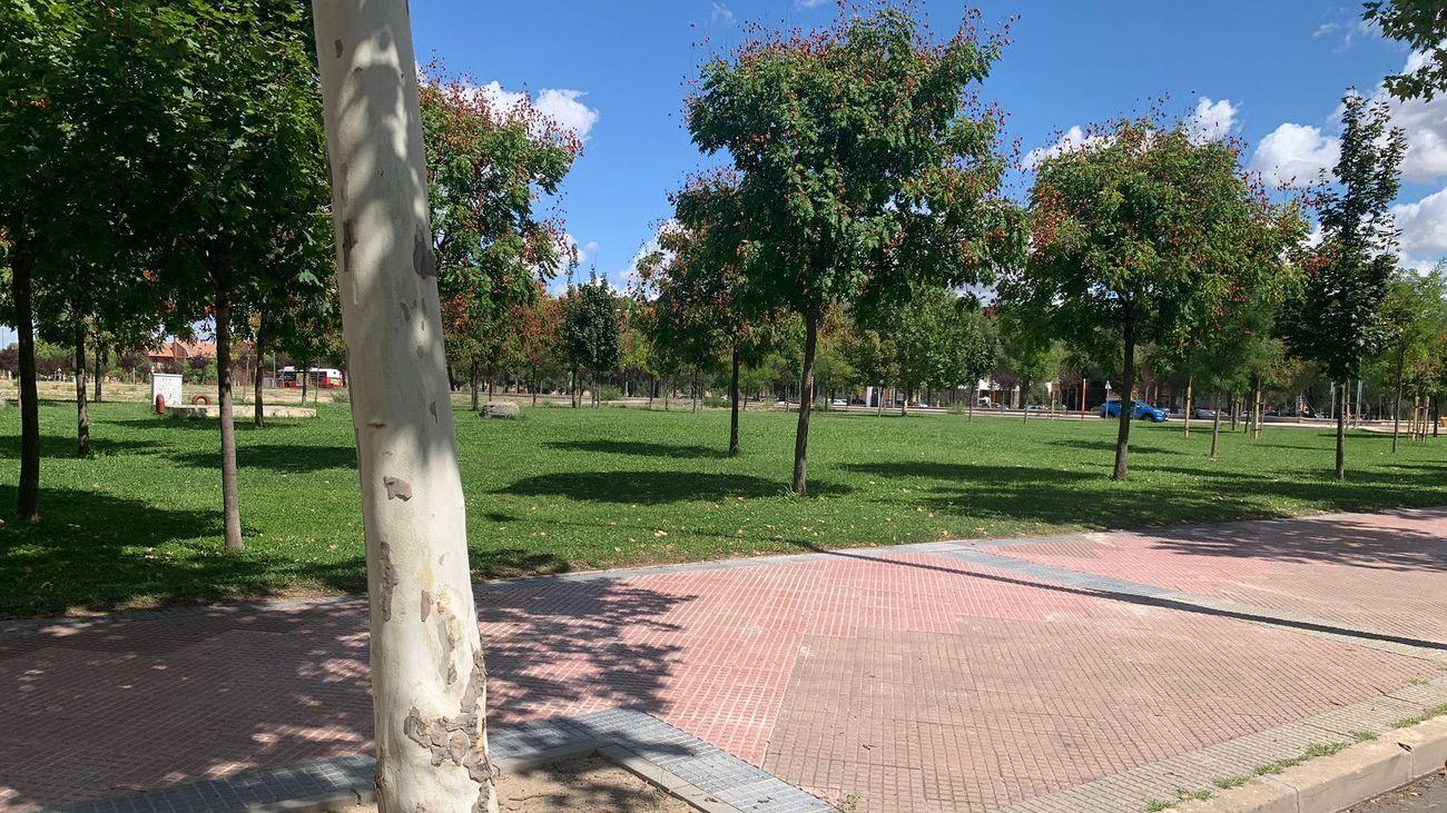 Alcalá continúa reformando la Avenida Gustavo Adolfo Bécquer, en Espartales
