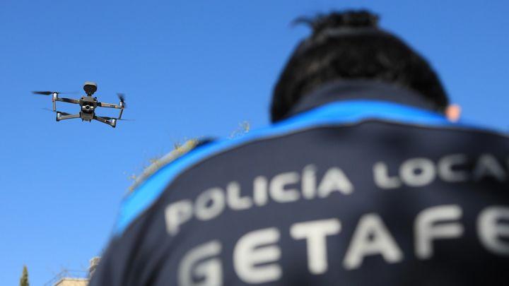 Getafe utilizará drones para controlar los conciertos de las fiestas y evitar botellones