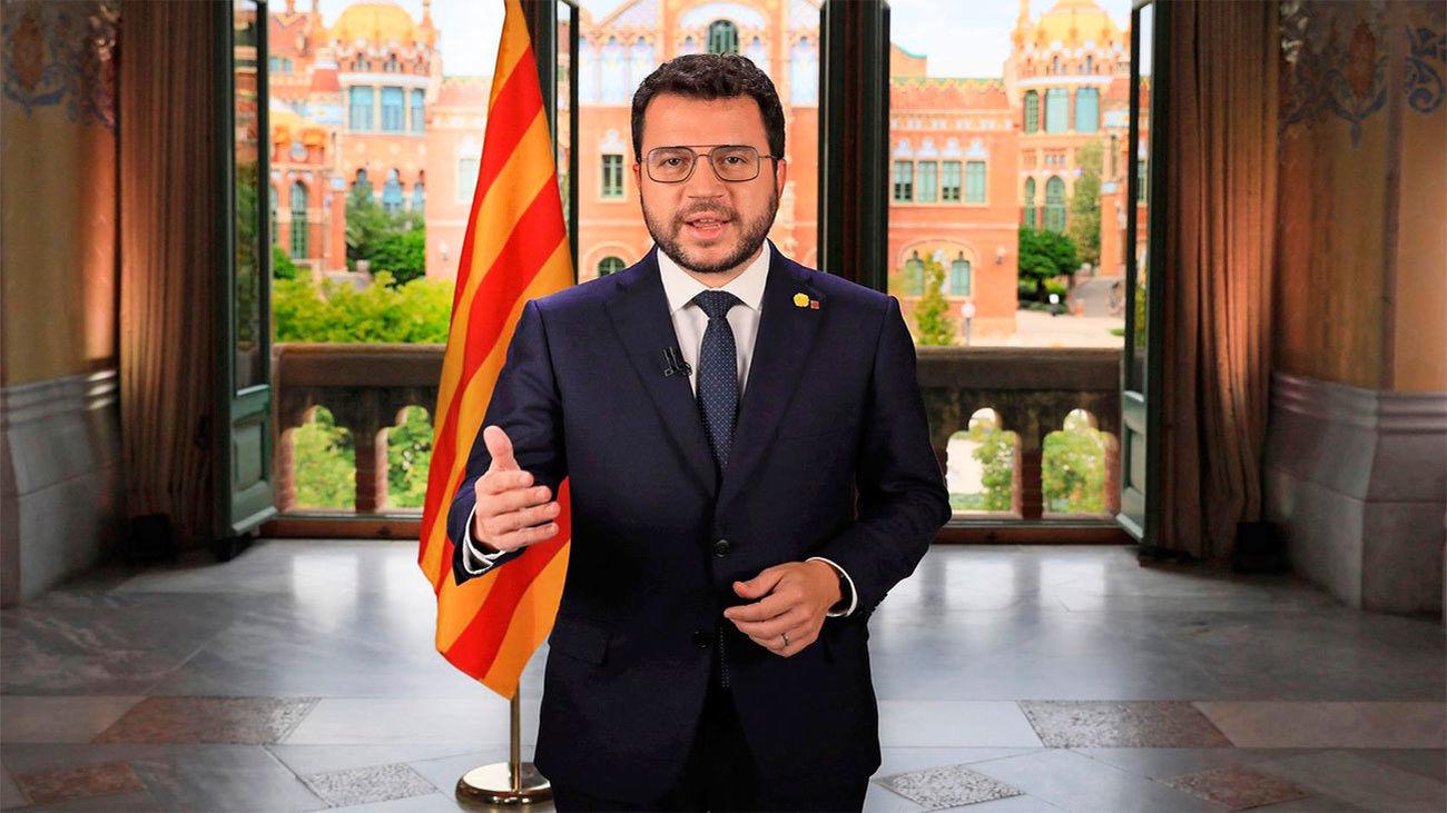 """Aragonès: La negociación con el Gobierno """"culminará con una Cataluña independiente reconocida"""""""