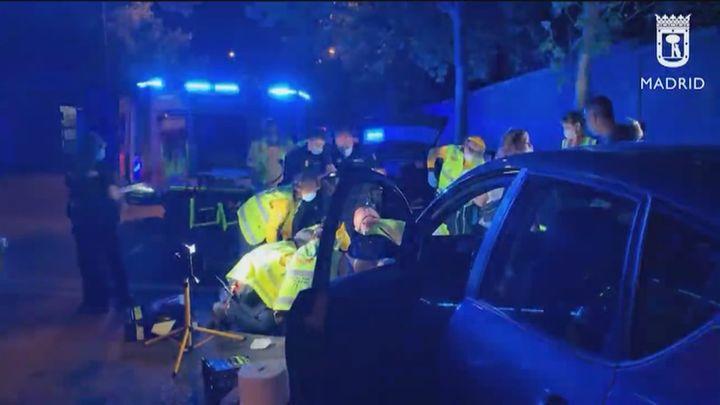 Un hombre sufre amputación de una pierna al ser embestido por un vehículo
