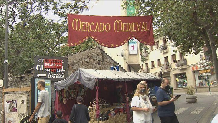 Mercado medieval y espectáculos en las fiestas patronales de Galapagar