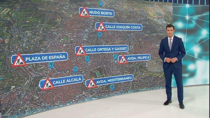 Estas son las obras con las que tendremos que convivir en Madrid durante los próximos meses