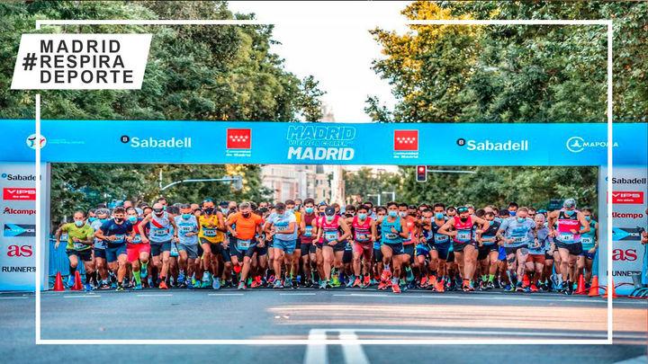 Más de 5.000 corredores en la carrera popular solidaria Madrid Corre por Madrid