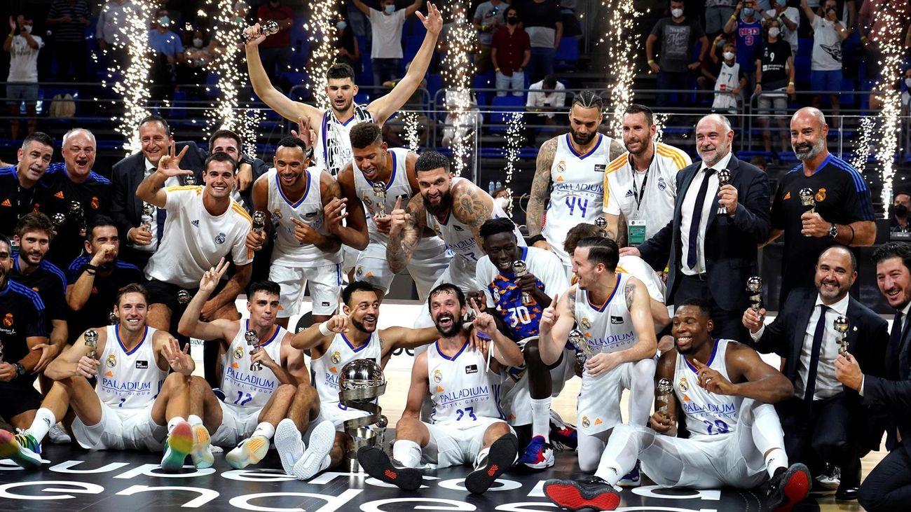 Real Madrid, campeón de la Supercopa Endesa 2021