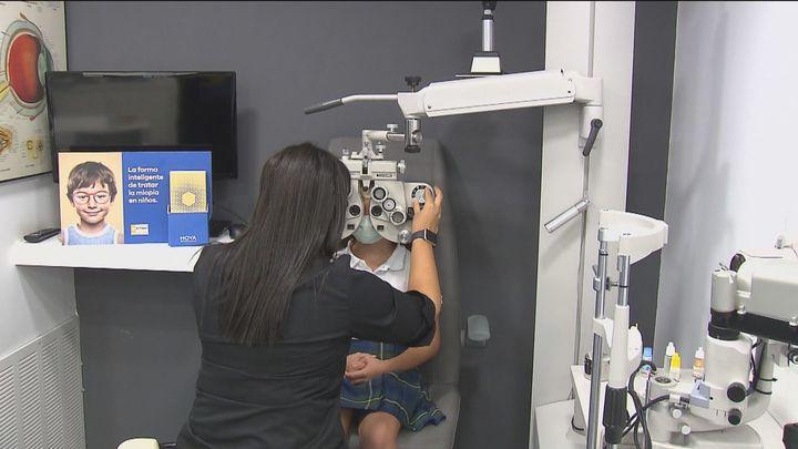 Los problemas de miopía en los más pequeños han aumentado un 40% tras el confinamiento