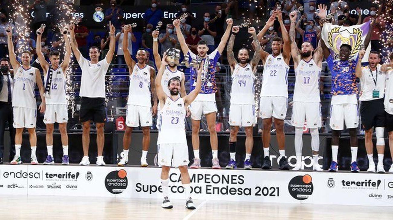 Real Madrid, campeón de la Supercopa