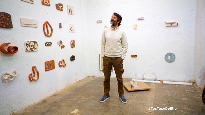 La creativa casa-taller del pintor y escultor Eduardo Barco, en Carabanchel