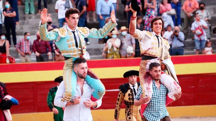 Fernando Adrián y Ángel Téllez salen a hombros en Valdetorres de Jarama (parte 1)