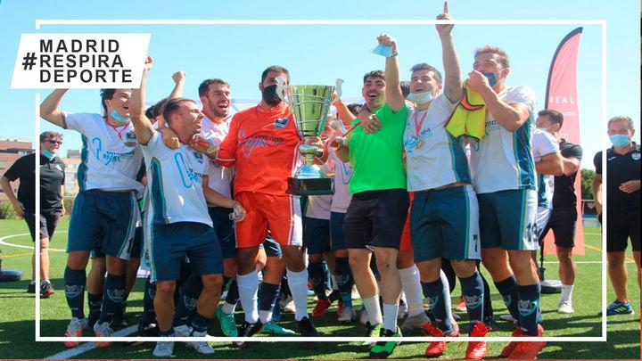 San Agustín, campeón de la primera Copa RFFM de Preferente tras 22 penaltis
