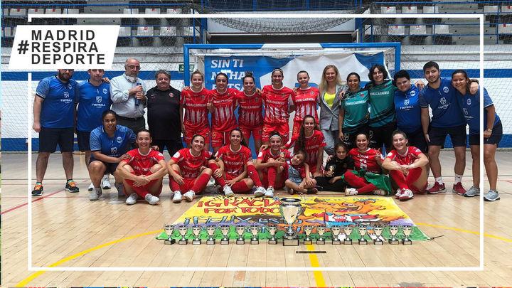 Futsi Atlético, campeón de la Copa Comunidad de Madrid por aplastamiento