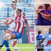 Vencen el Atleti al Real Madrid, el Madrid CFF al Tenerife y pierde el Rayo