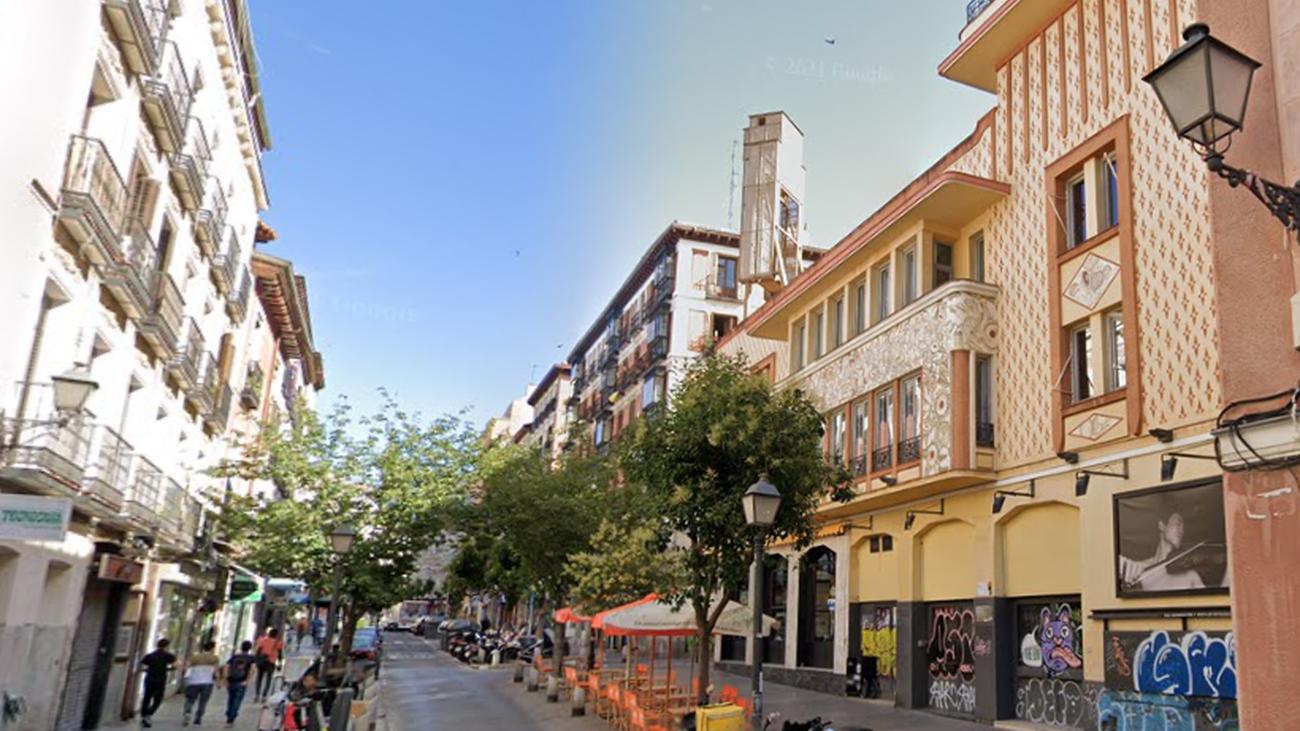 El Teatro Pavón, en la calle de Embajadores de Madrid
