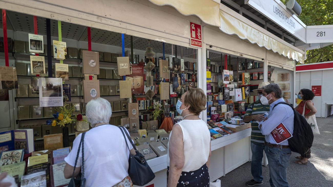 Visitantes de la Feria del Libro
