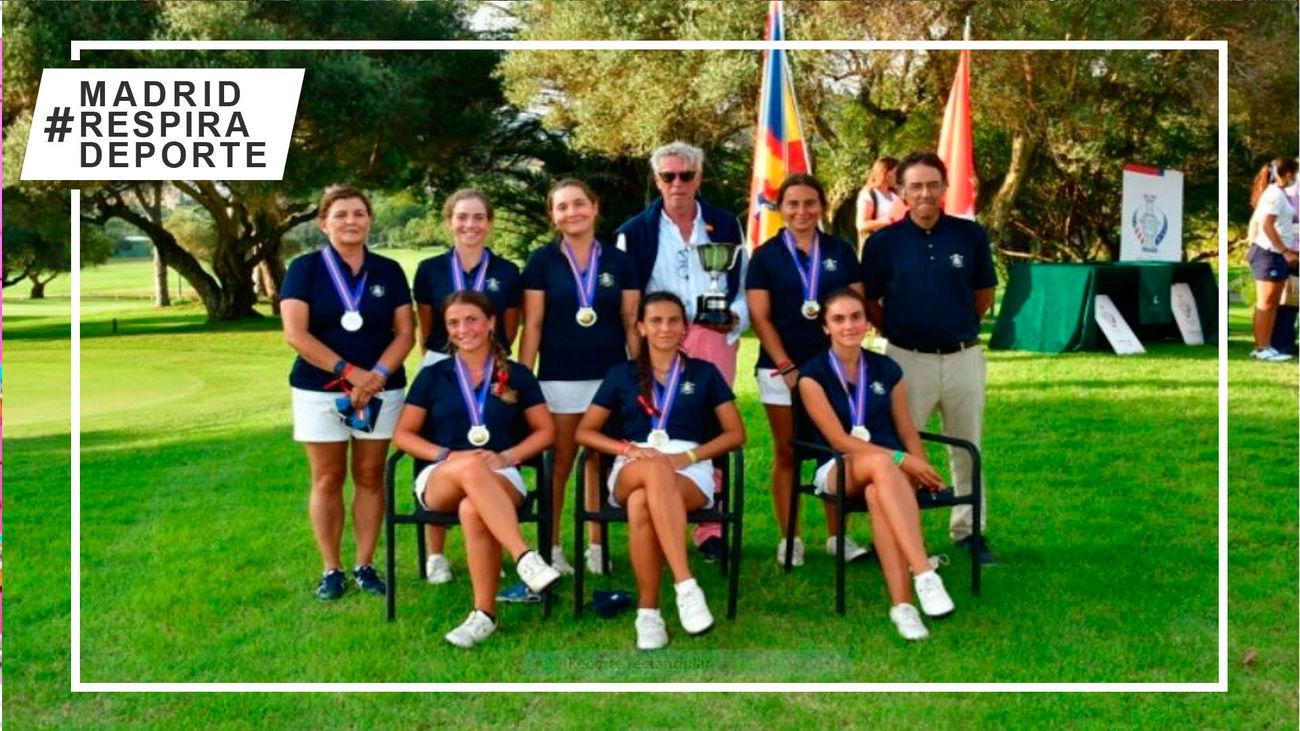 Equipo de Madrid sub'18 femenino
