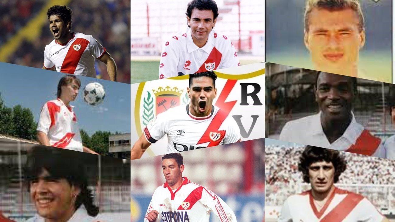 Ex jugadores del Rayo Vallecano
