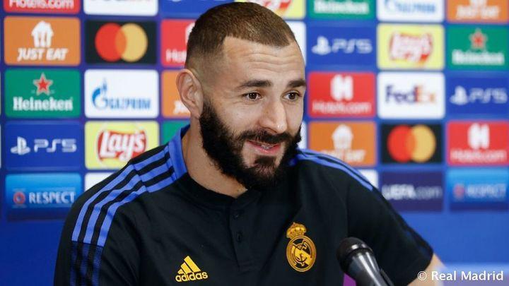 """Benzema: """"Tenemos un buen equipo y vamos a pelear por la Champions"""""""