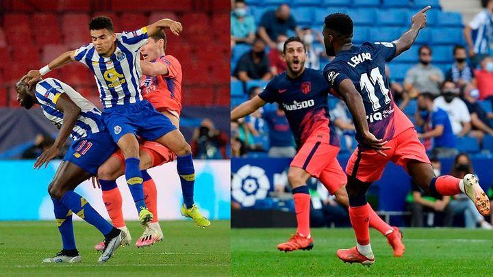 El Atlético se estrena ante la intensidad del Oporto