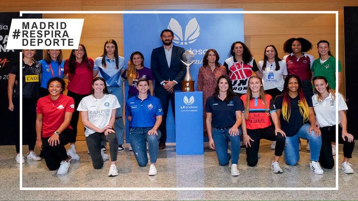 Se presenta la Liga Femenina de baloncesto con dos equipos madrileños