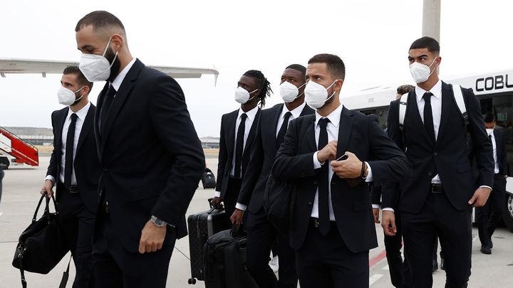 El Real Madrid ya se encuentra en Milán