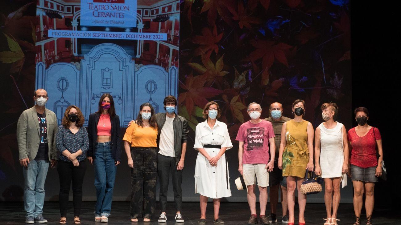 Presentación de la temporada de otoño en el teatro Salón Cervantes de Alcalá de Henares