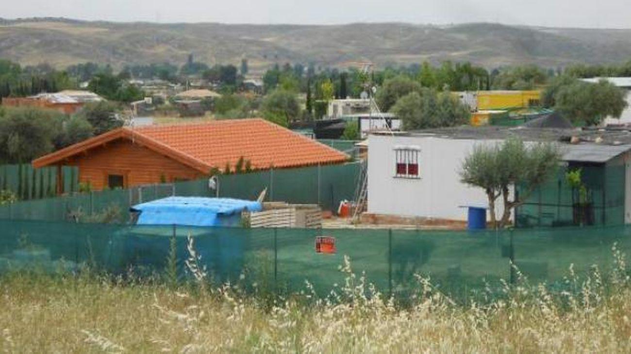 Construcciones en terreno no urbanizable, en Morata de Tajuña