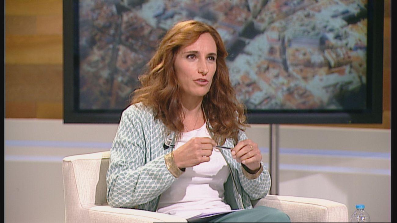 Mónica García, portavoz de Más Madrid en la Asamblea de Madrid