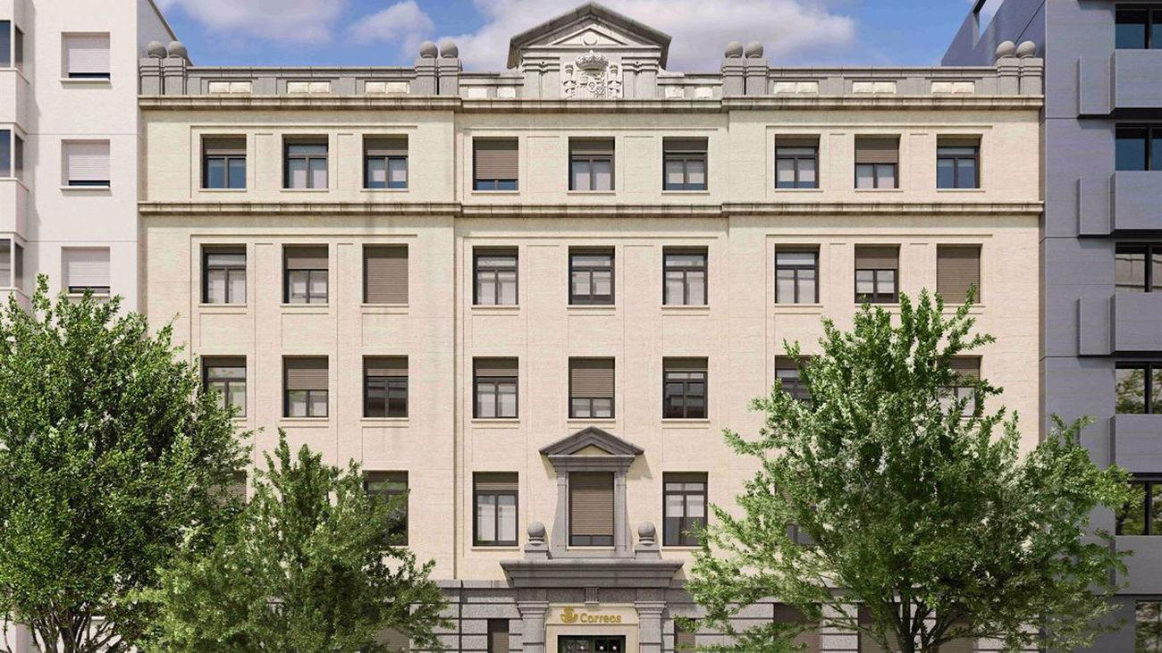 Nueva sede corporativa de Correos en Madrid
