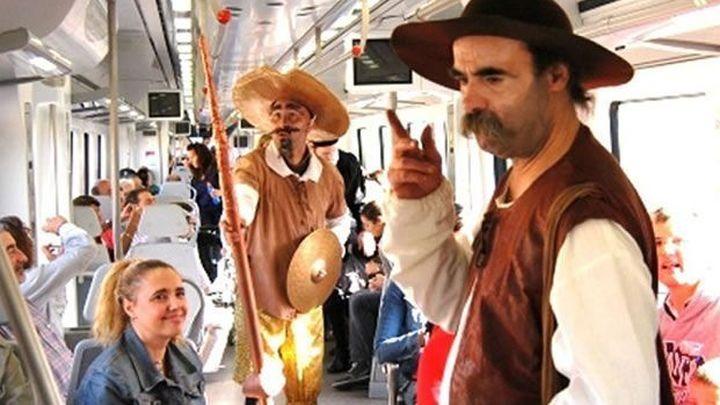 El Tren de Cervantes vuelve a traer la magia del teatro a Alcalá de Henares
