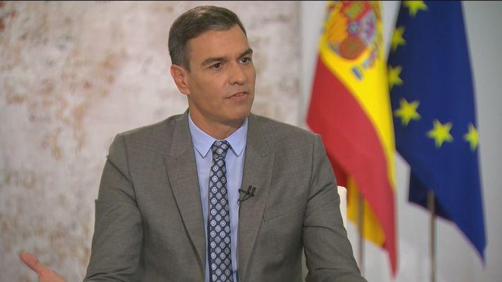 """Pedro Sánchez presume de que """"se ha vacunado a todos sin preguntarles a quien votan"""""""