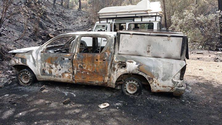 El incendio de Sierra Bermeja no se extinguirá completamente hasta dentro de varios días
