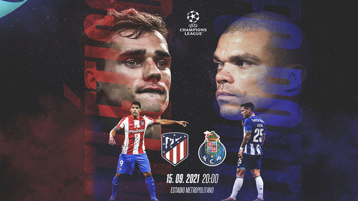 Oporto, un duro rival para el Atlético para arrancar en Europa