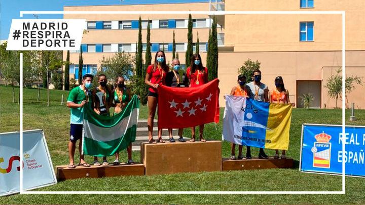 Madrid, campeón de España cadete femenino de vóley playa
