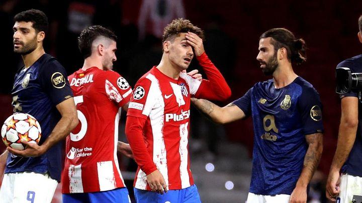 0-0. El Atlético de Madrid se frustra ante el Oporto