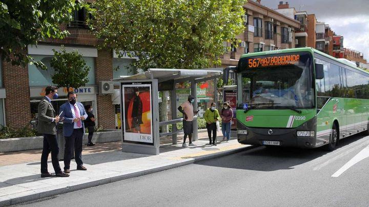 Las líneas 565 y 567 de Boadilla cambian para mejorar el servicio