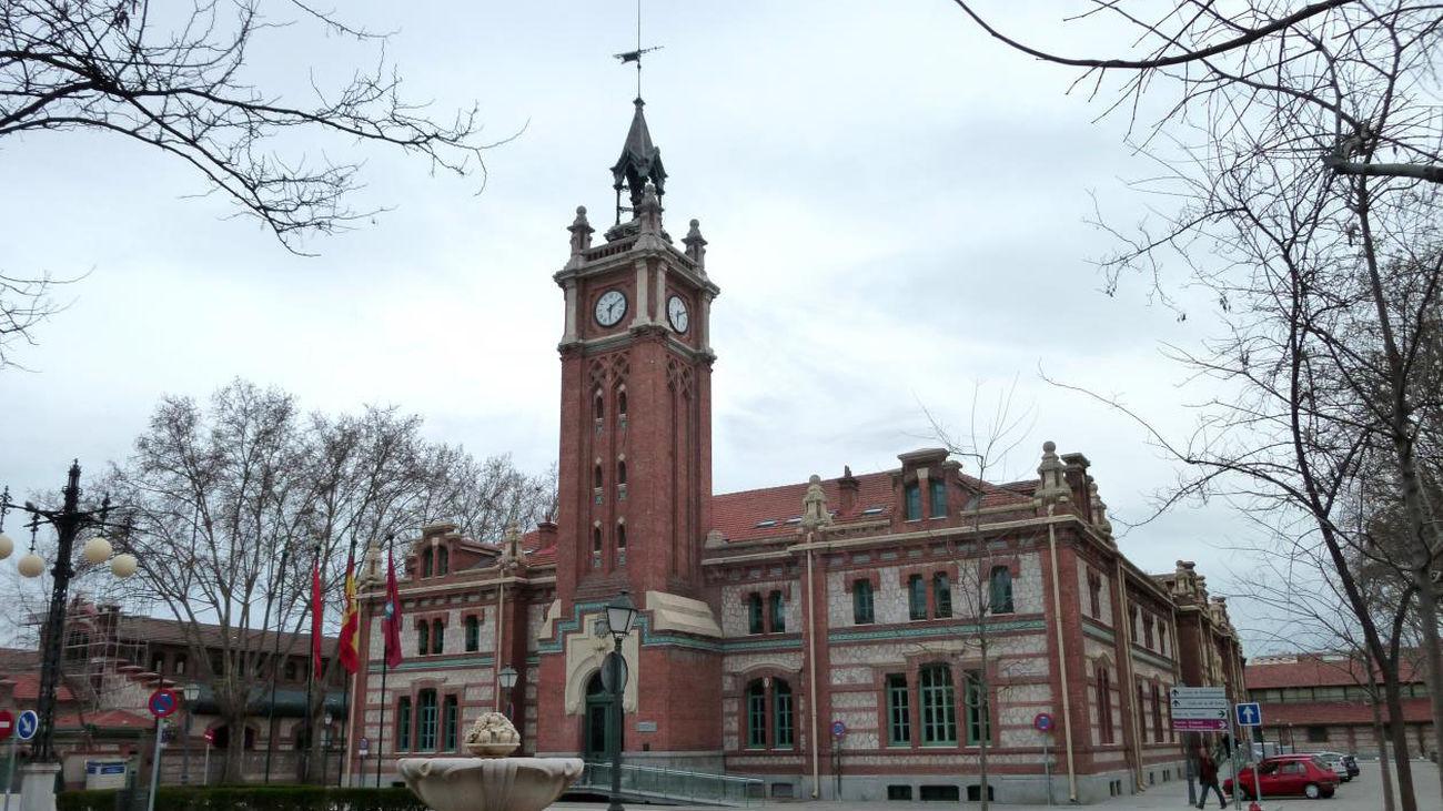 La Casa del Reloj, sede de la Junta de Distrito de Arganzuela