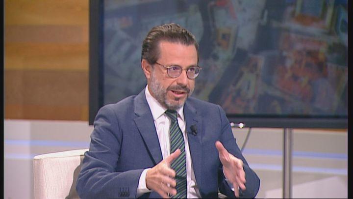 """Lasquetty: """"El PSOE quiere freír a impuestos a los madrileños y no aceptamos ese chantaje"""""""