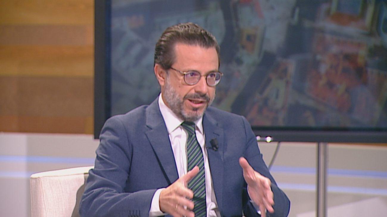 Javier Fernández-Lasquetty, consejero de Hacienda, Economía y Empleo de la Comunidad de Madrid