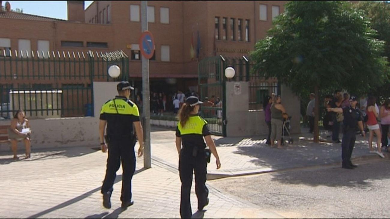Arranca el Plan de Prevención de Novatadas con policías que vigilan los institutos de Torrejón