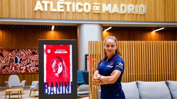 """Estefanía Banini: """"quiero llevar al Atlético a lo más alto posible"""""""