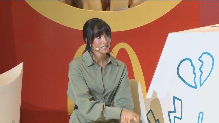 Aitana, objeto de críticas y memes por promocionar una nueva hamburguesa de McDonald's