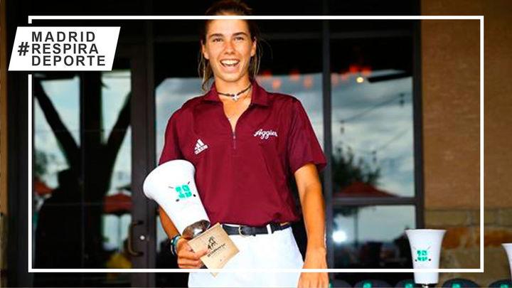 La madrileña Blanca Fernández gana su primer torneo universitario en EEUU