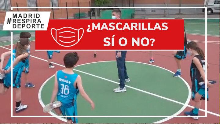 Resolvemos dudas, mascarilla si o no en el deporte federado madrileño