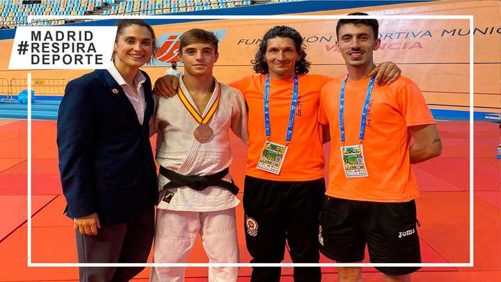 El torrejonero Diego Tabuenca, bronce en el Campeonato de España Junior de judo