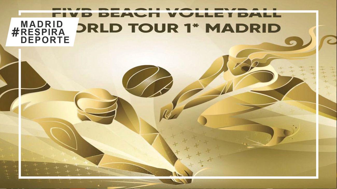 Después de 19 años vuelve a Madrid la FIVB Beach Volleyball World Tour