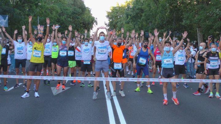 Carrera popular en Madrid y baloncesto en Alcobendas