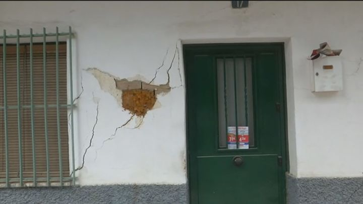 Desalojado un bloque de San Fernando por riesgo de colapso